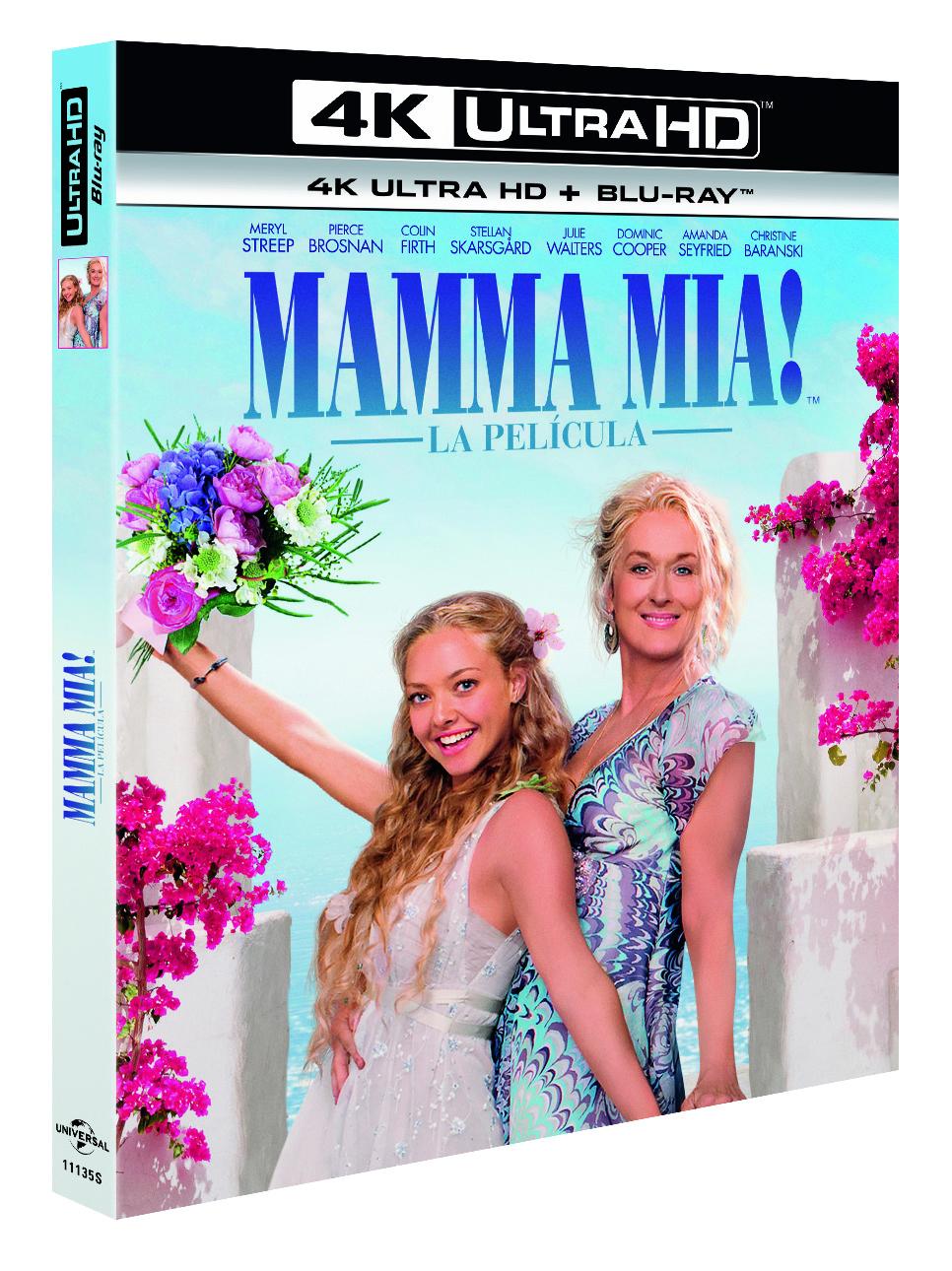 'Mamma Mia!' llegará el 6 de junio en 4K Ultra HD • En tu pantalla