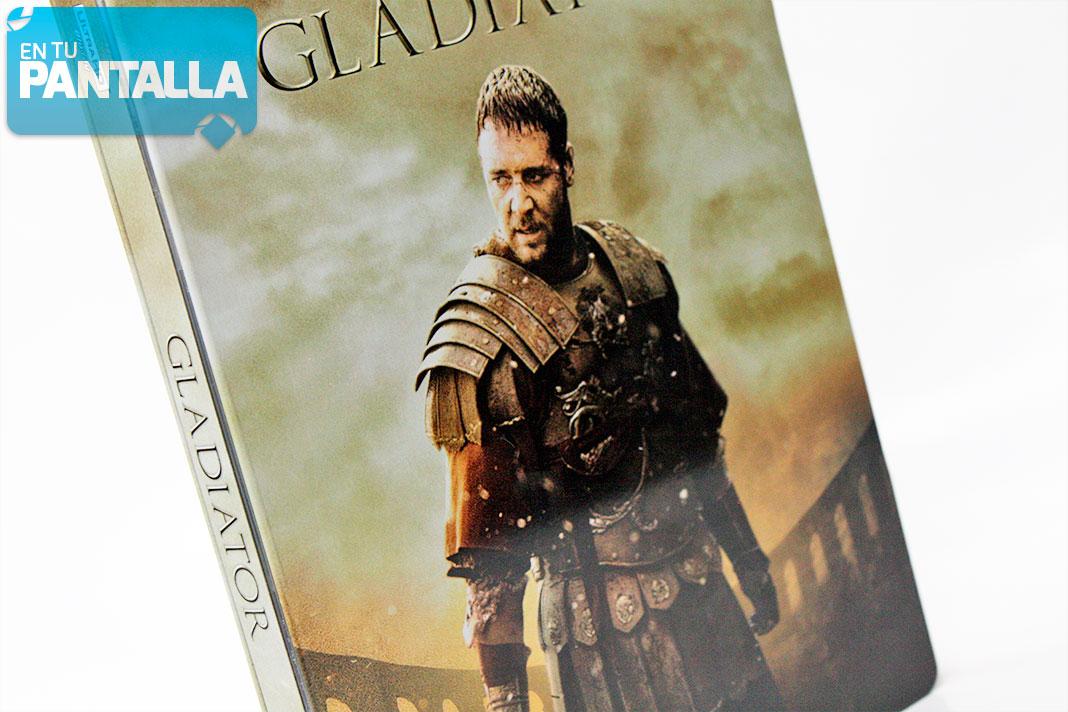 'Gladiator' llega en 4K Ultra HD en un fantástico Steelbook