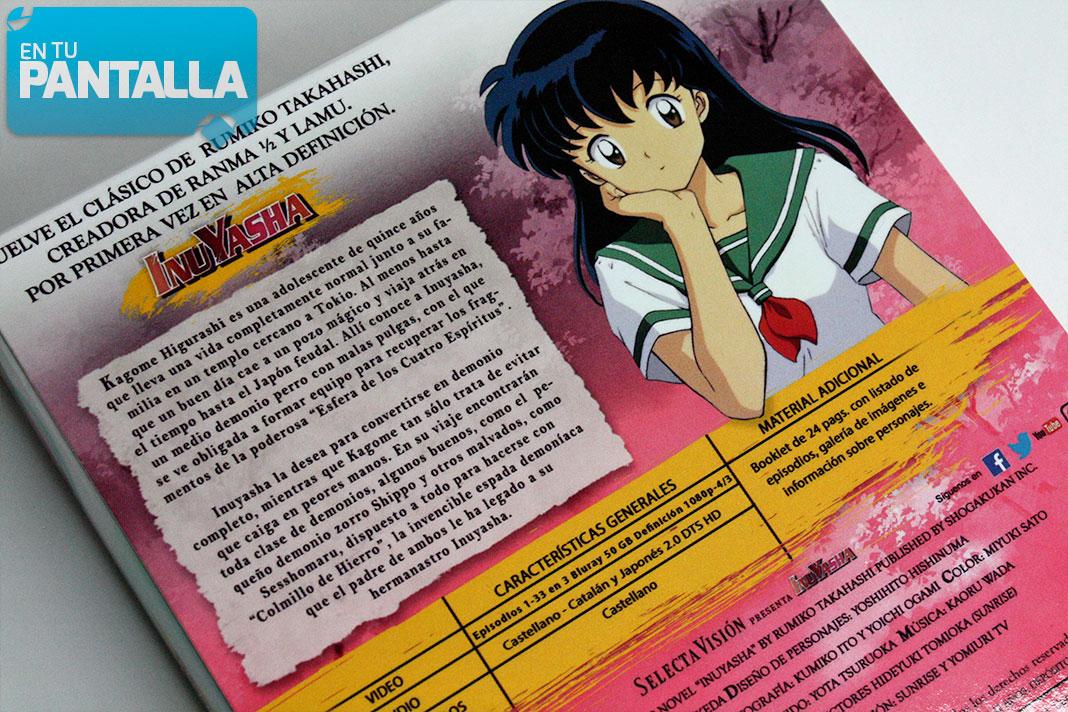 Inuyasha Temporada 1 Un Vistazo Al Blu Ray De Selecta Vision En