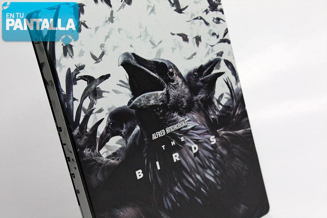 'Pájaros' llega en una edición Steelbook BRILLANTE [Especial Alfred Hitchcock] • En tu pantalla