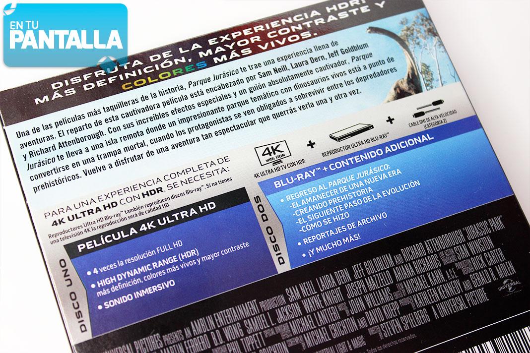 'Jurassic Park' llega en formato 4K Ultra HD #AñoJurásico