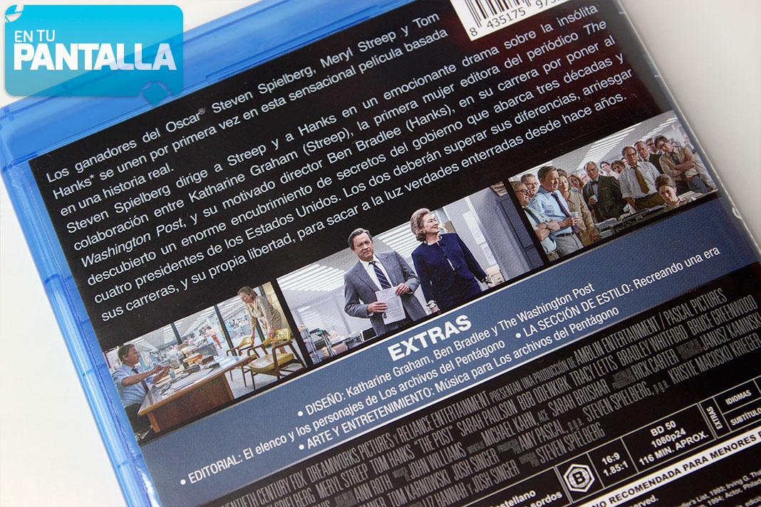 'Los archivos del Pentágono', analizamos la edición en Blu-ray de eOne • En tu pantalla