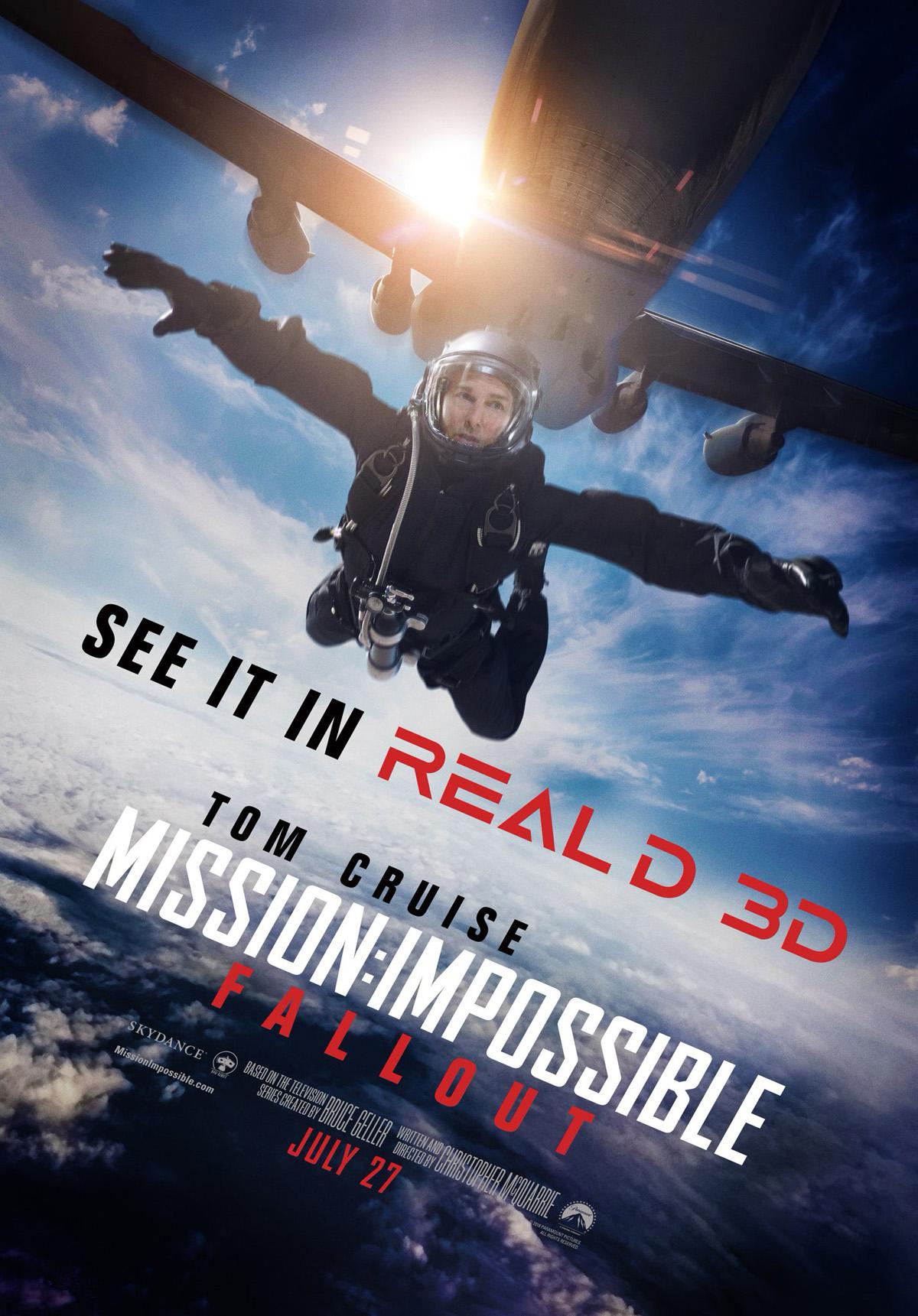 'Misión: Imposible - Fallout' presenta un nuevo póster protagonizado por Tom Cruise