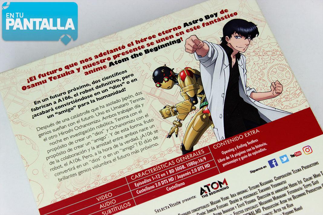'ATOM: The Beginning': Un vistazo rápido al Blu-ray de Selecta Visión • En tu pantalla