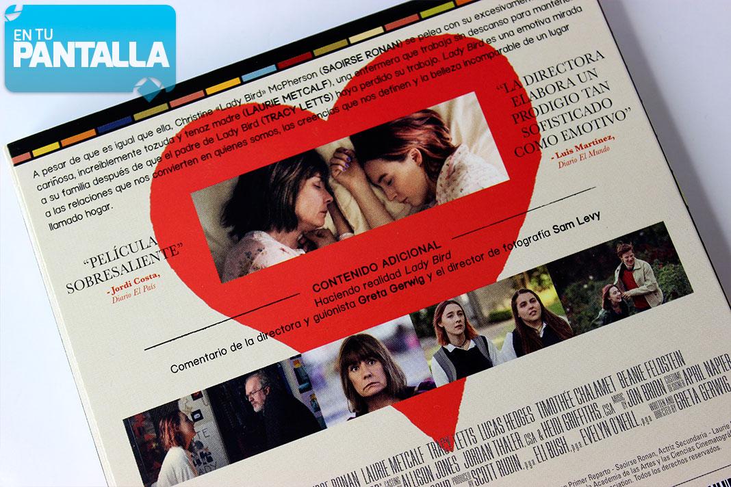 'Lady Bird' llega con una edición especial en Blu-ray. ¡Un vistazo al interior! • En tu pantalla