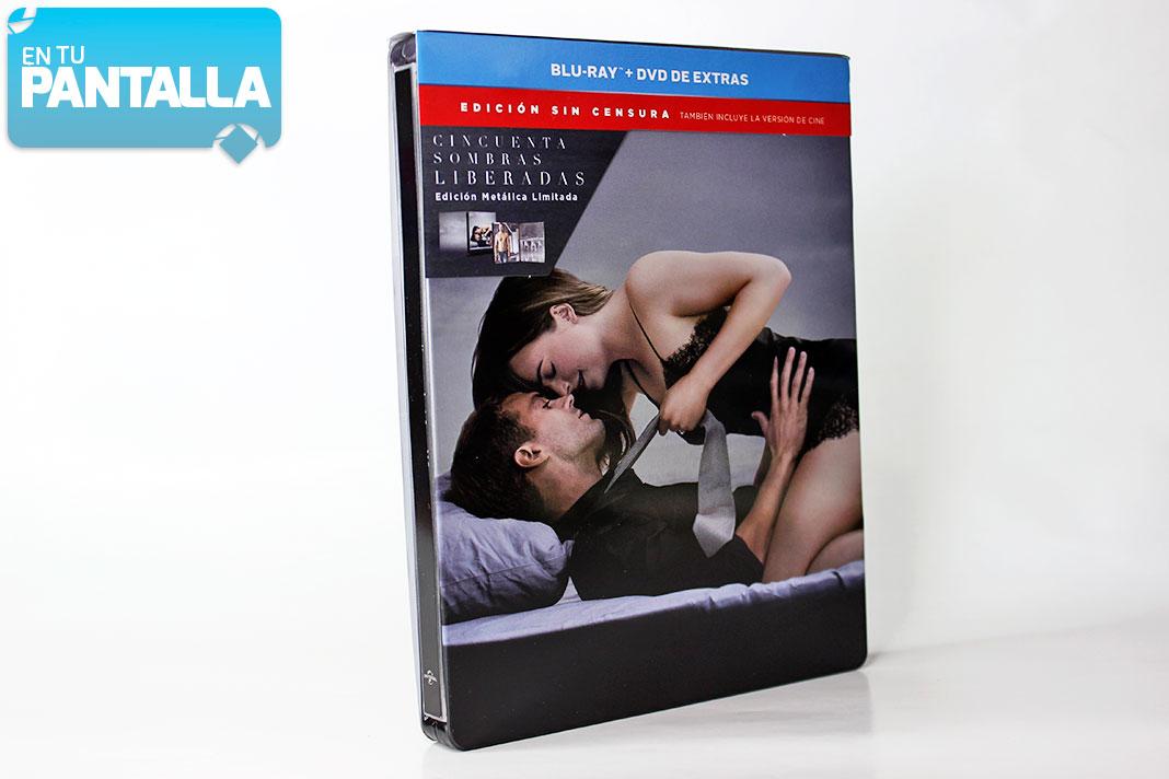 'Cincuenta Sombras Liberadas': Un vistazo al Steelbook • En tu pantalla