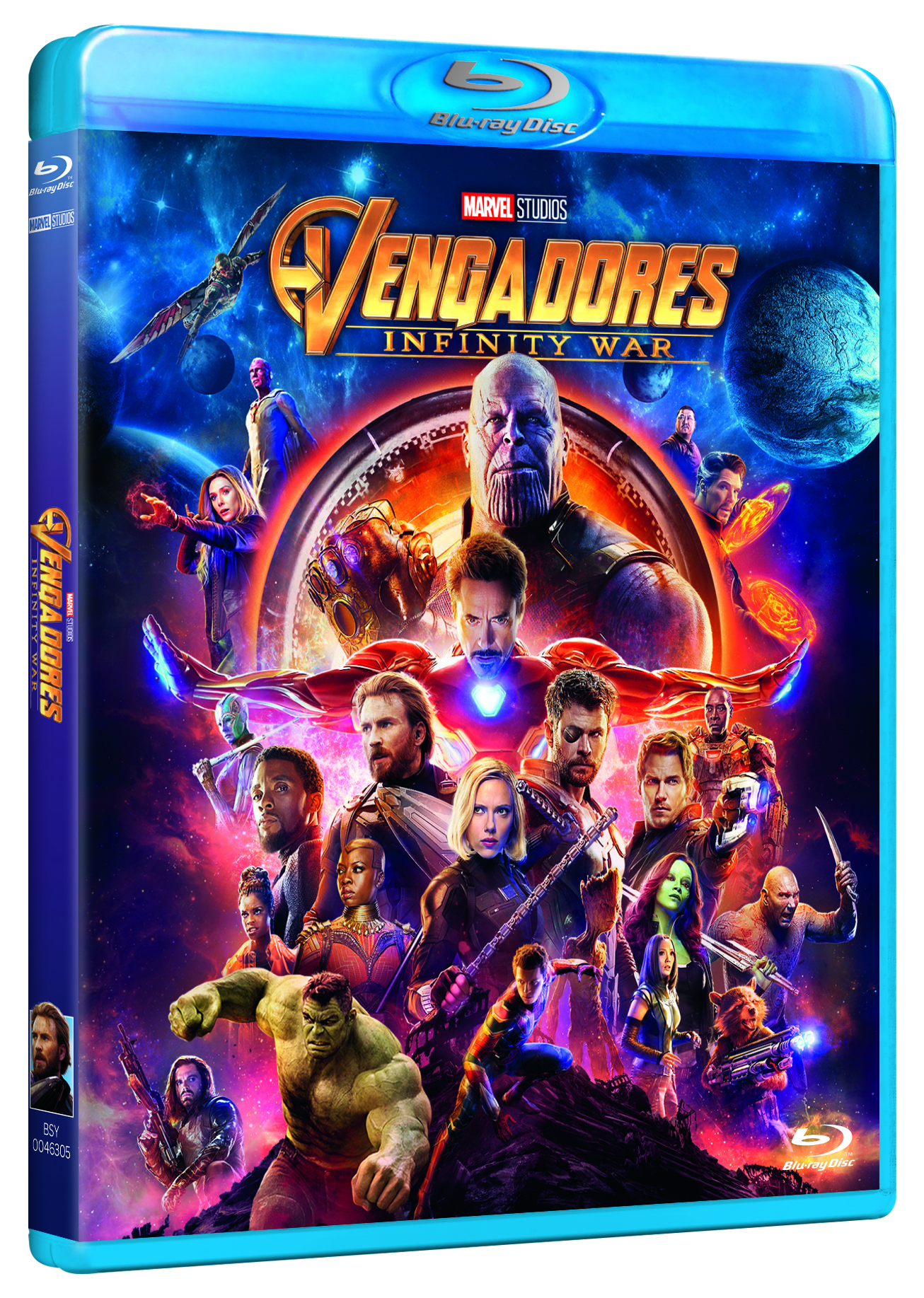 'Infinity War' llegará en Blu-ray, Steelbook, 3D y Dvd el 29 de agosto