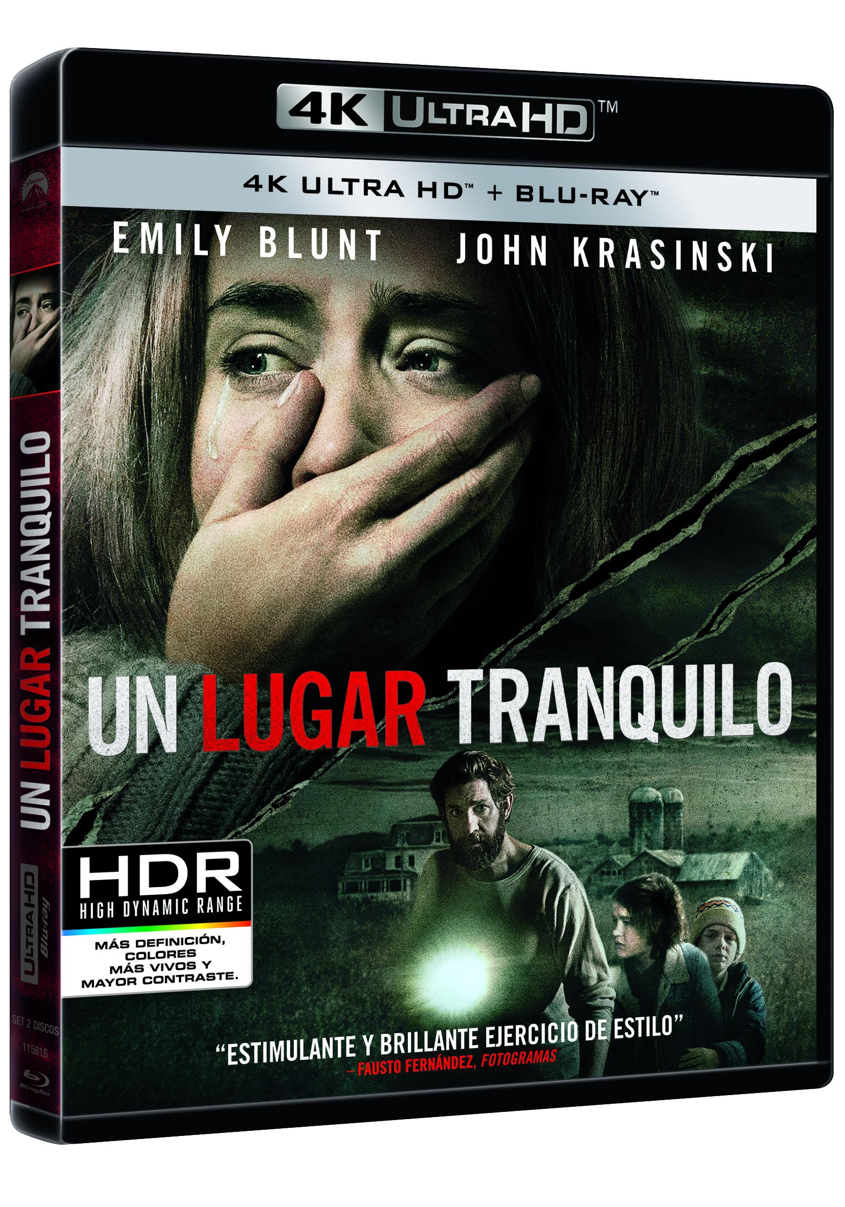 'Un lugar tranquilo' llegará en 4K Ultra HD, Steelbook, Blu-ray y Dvd el 5 de septiembre • En tu pantalla