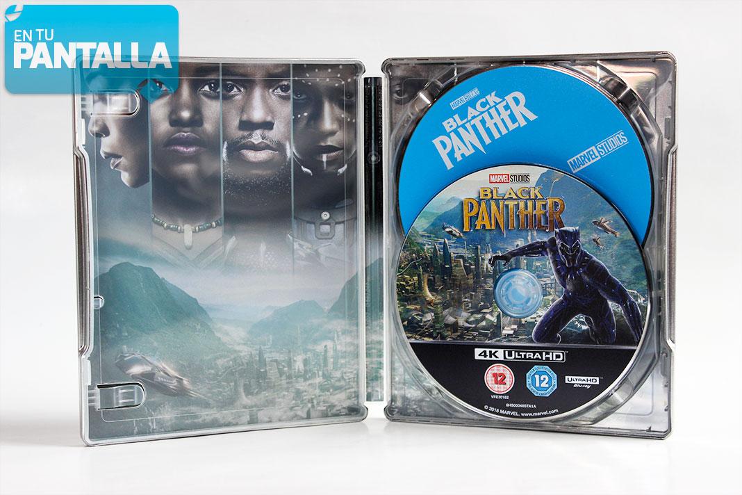 'Black Panther', un nuevo Steelbook de Marvel • En tu pantalla