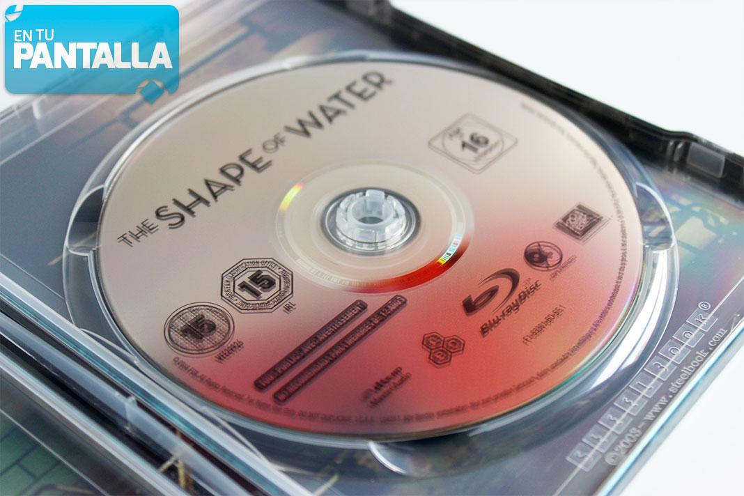 'La Forma del Agua': Un vistazo al Steelbook más codiciado • En tu pantalla