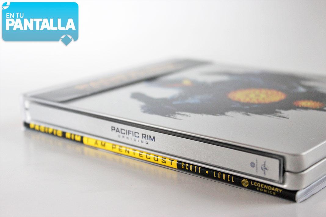 'Pacific Rim: Insurrección': Un vistazo al Steelbook 4K Ultra HD • En tu pantalla