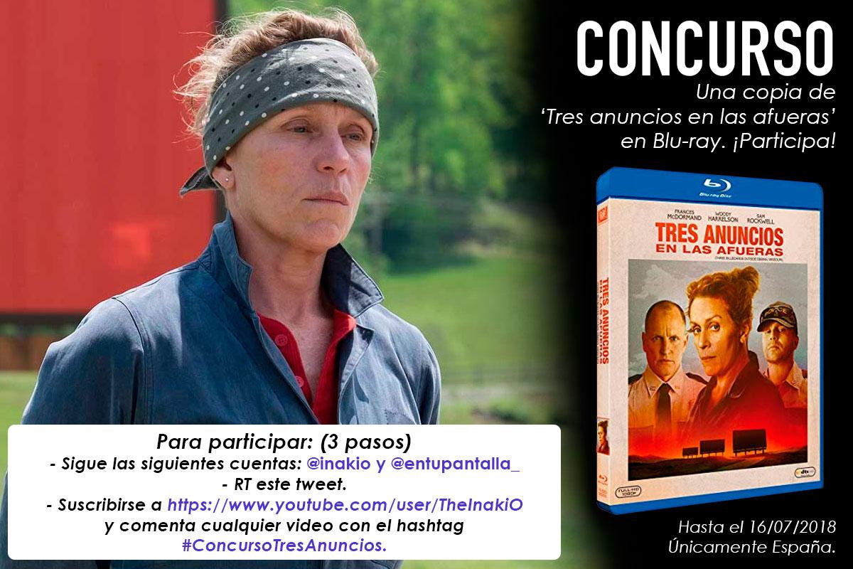 ¡Concurso! Gana una copia de 'Tres anuncios en las afueras' en Blu-ray • En tu pantalla