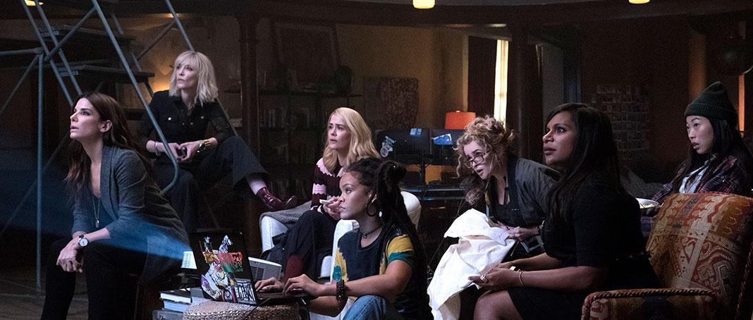 'Ocean's 8', una película con un reparto de lujo • En tu pantalla