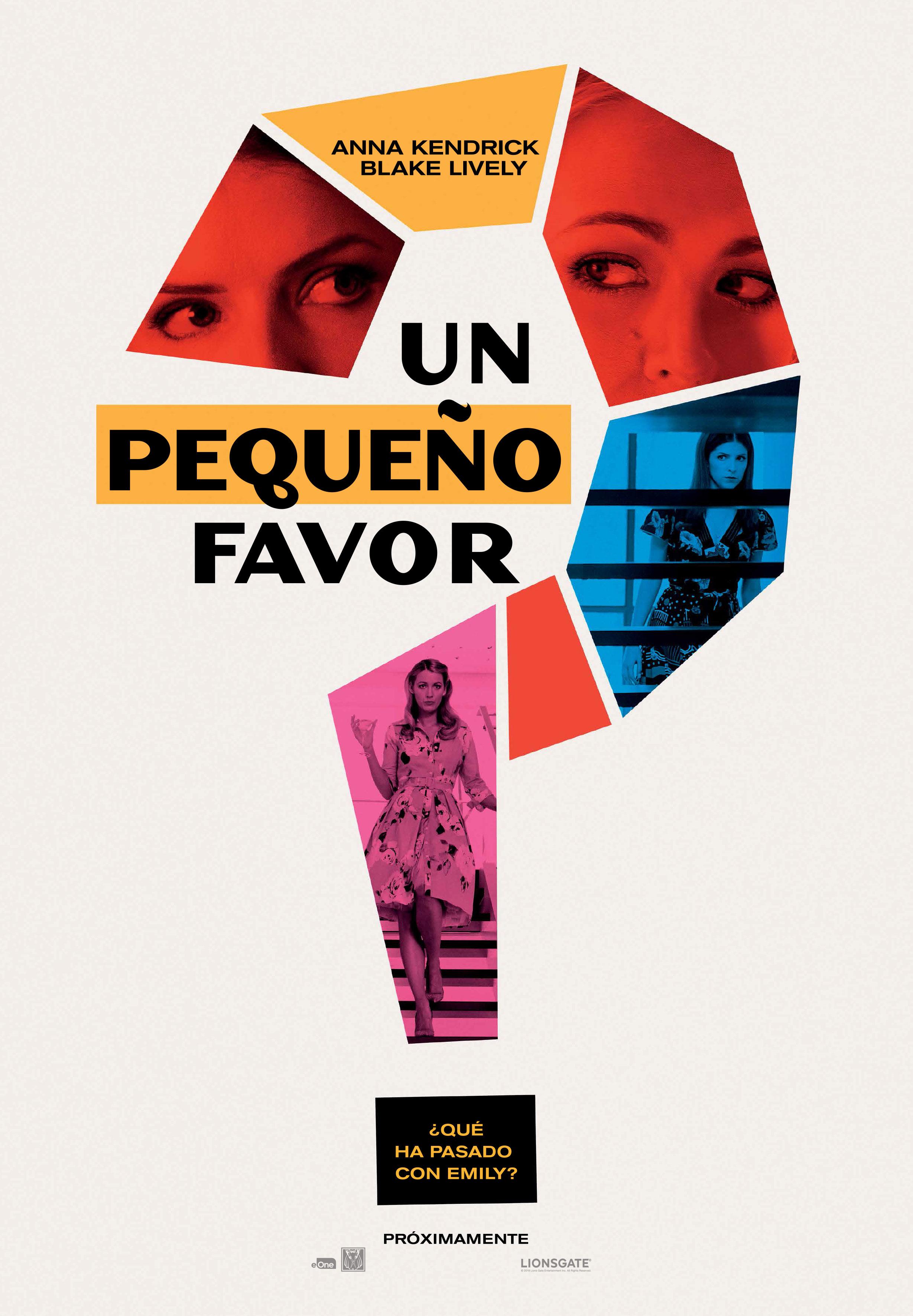 'Un pequeño favor': Nuevo tráiler de este thriller con Blake Lively y Anna Kendrick • En tu pantalla