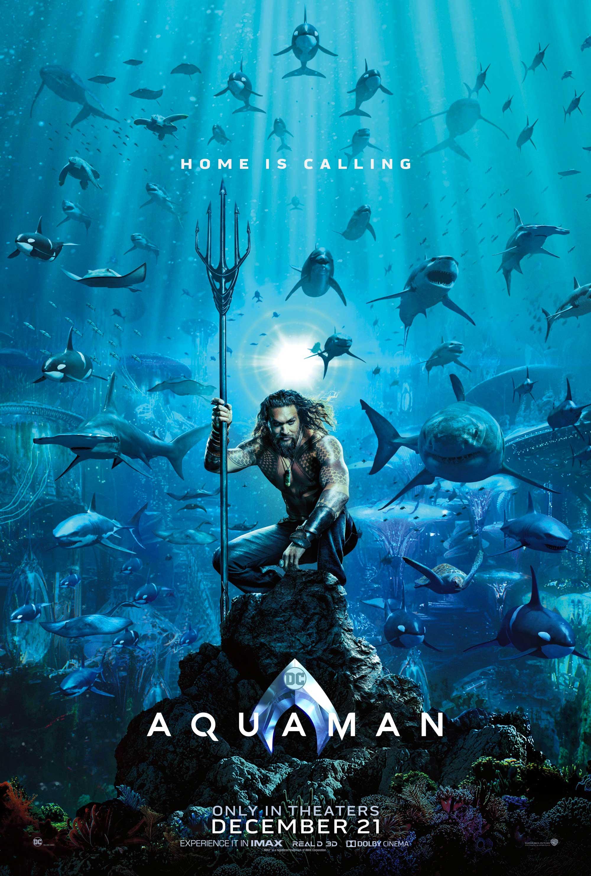 'Aquaman': Póster con el océano como protagonista • En tu pantalla