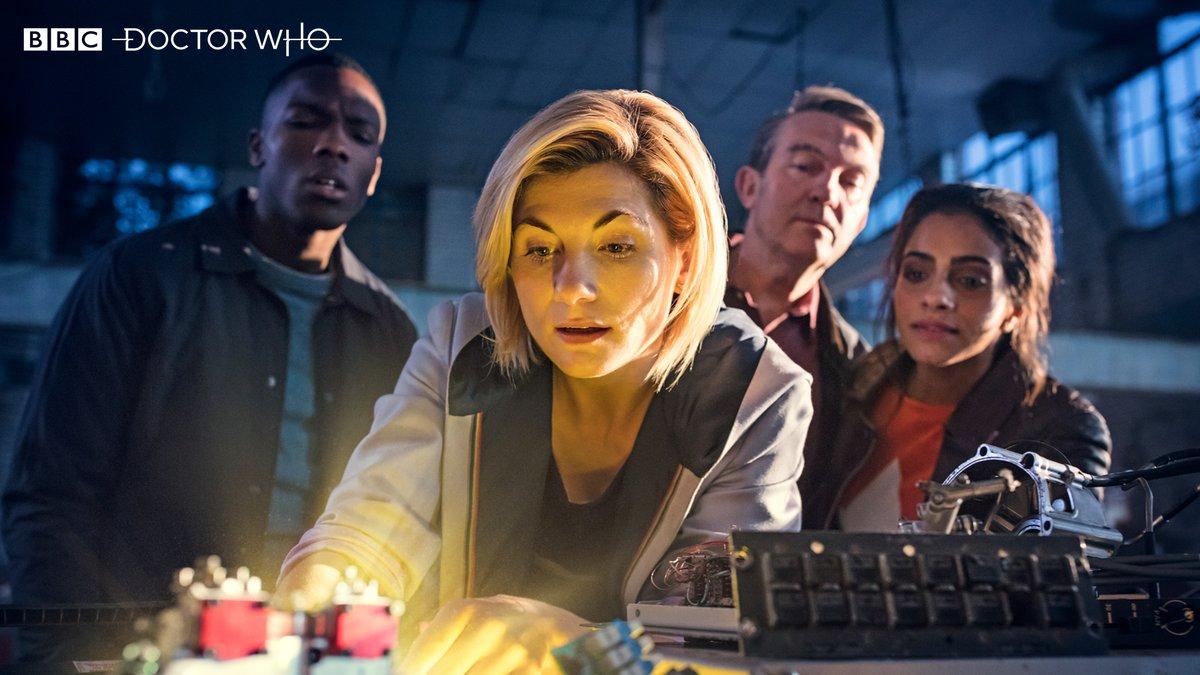 'Doctor Who': Primeras fotos del team al completo. ¡Nuevos companions! • En tu pantalla