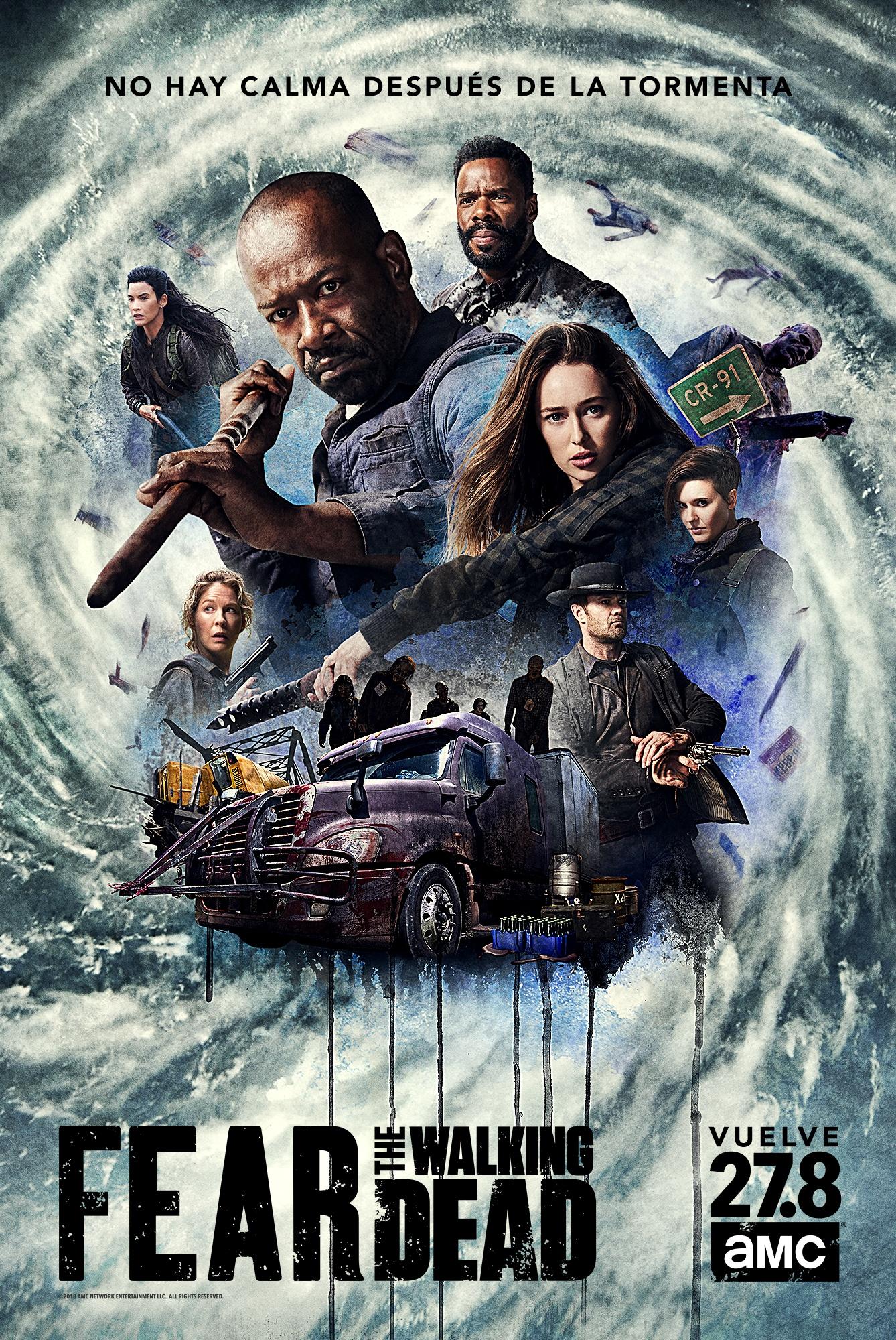 'Fear The Walking Dead' Poster Temporada 4B