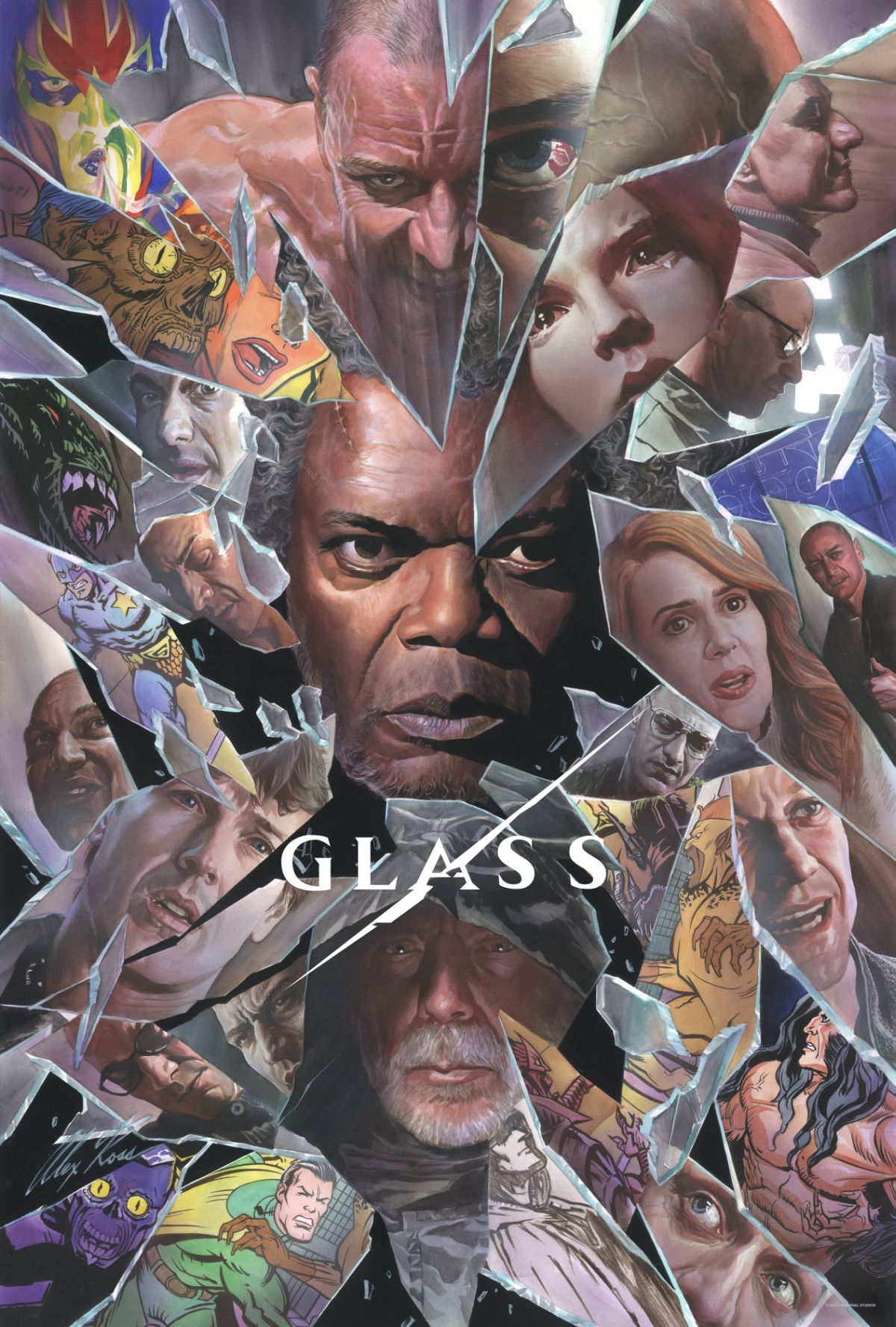 Póster 'Glass' Alex Ross