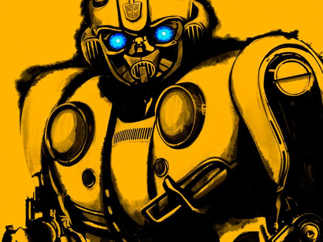 'Bumblebee' póster Comic-Con