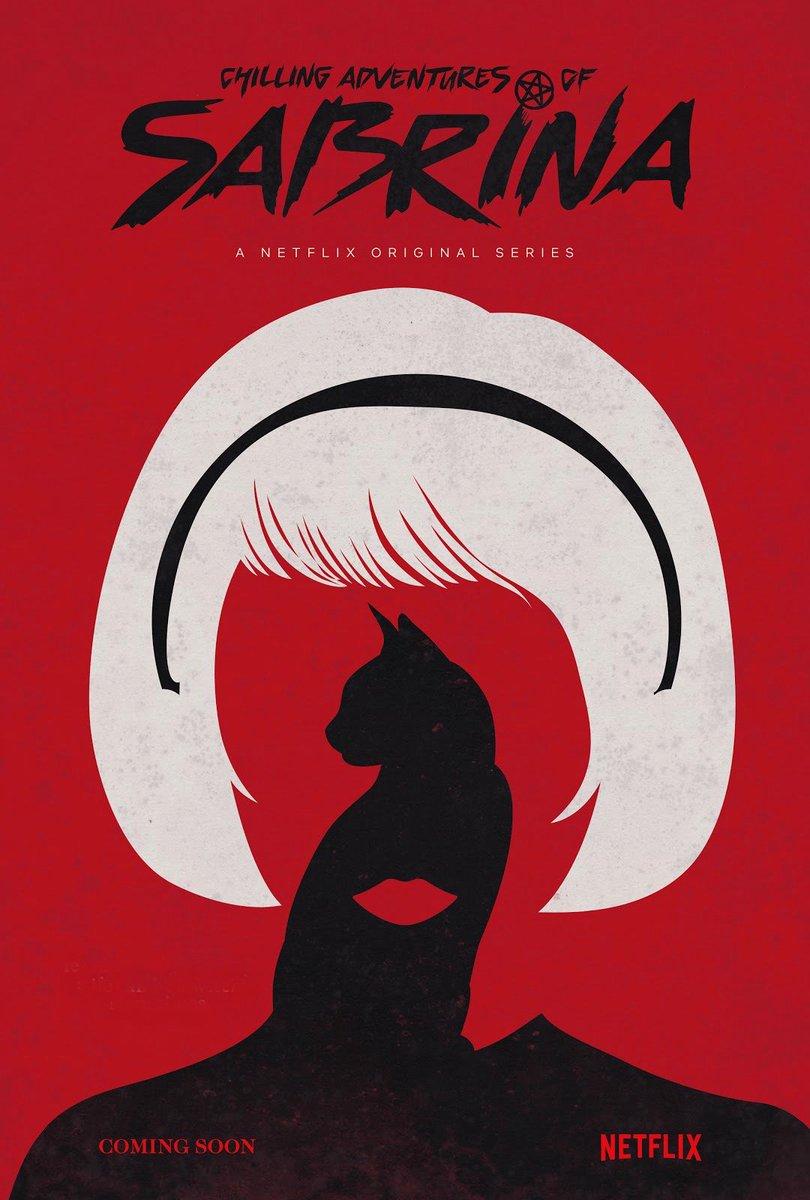 'Chilling Adventures of Sabrina': Primer póster de las nuevas aventuras de Sabrina • En tu pantalla