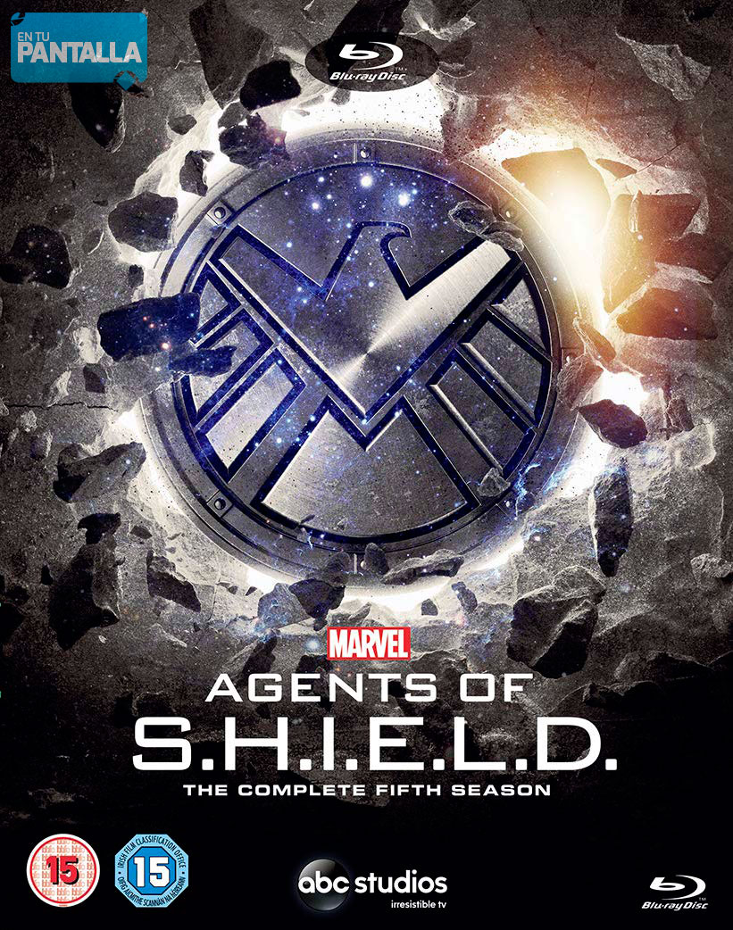 Agents of SHIELD Season 5 Blu-ray Digipack