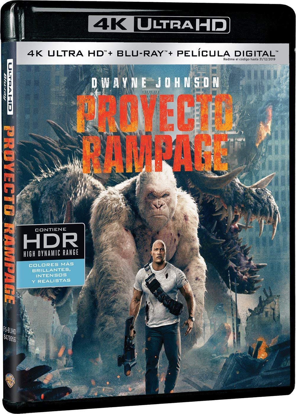 Proyecto Rampage 4K Ultra HD