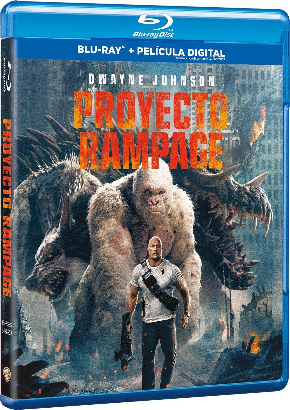 Proyecto Rampage Blu-ray