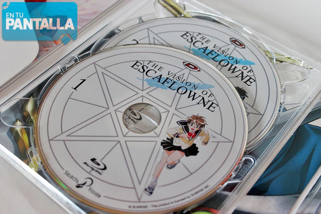 Escaflowne Blu-ray Selecta Visión