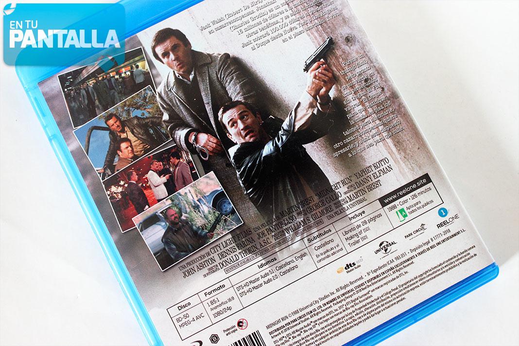 Huida a medianoche Blu-ray