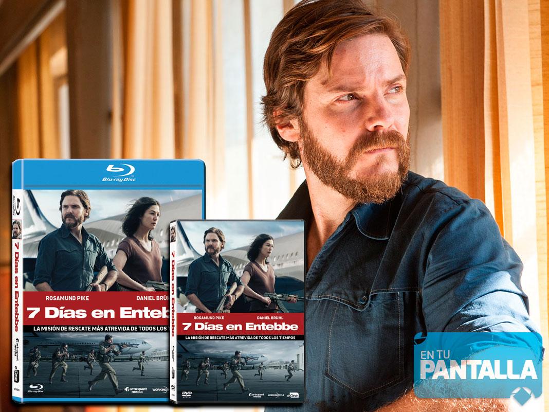 7 dias en Entebbe Blu-ray y Dvd