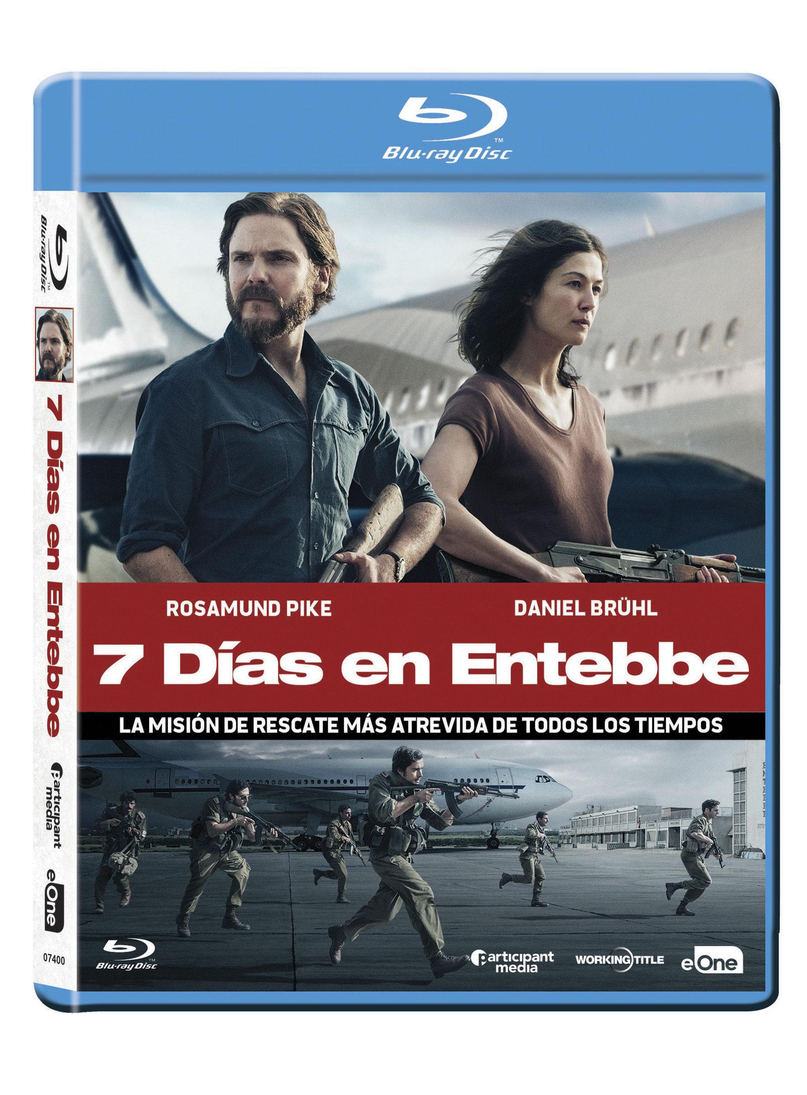 7 dias en Entebbe Blu-ray
