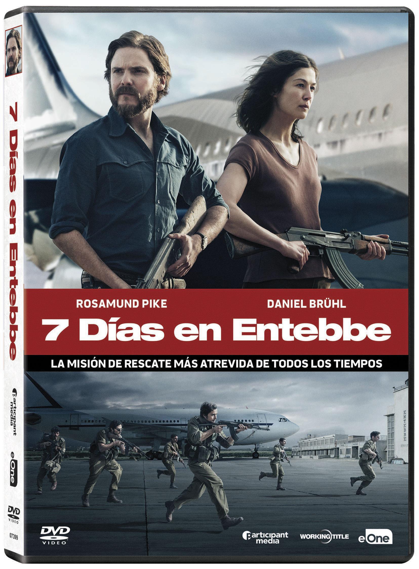 7 dias en Entebbe Dvd