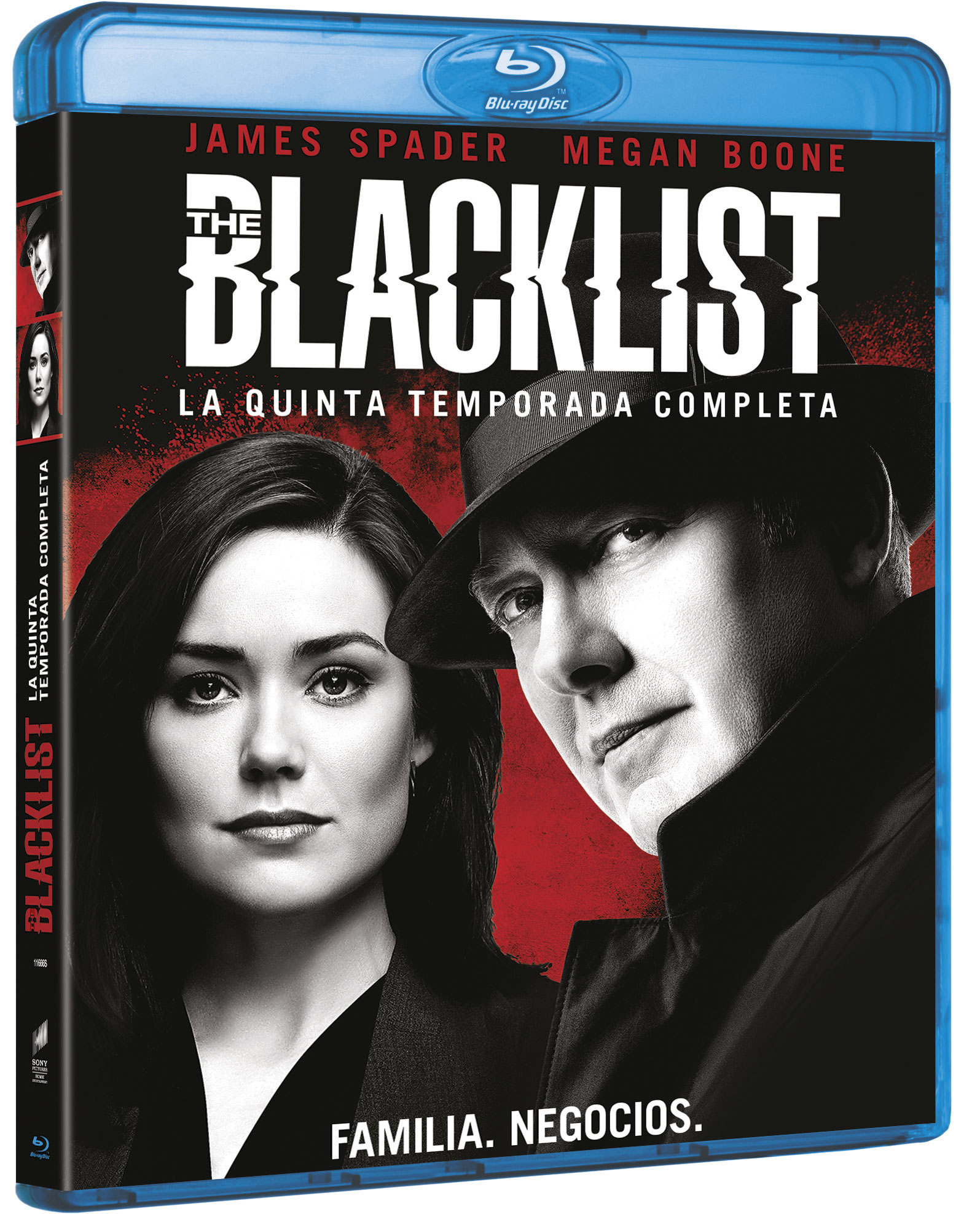 The Blacklist Temporada 5 Blu-ray