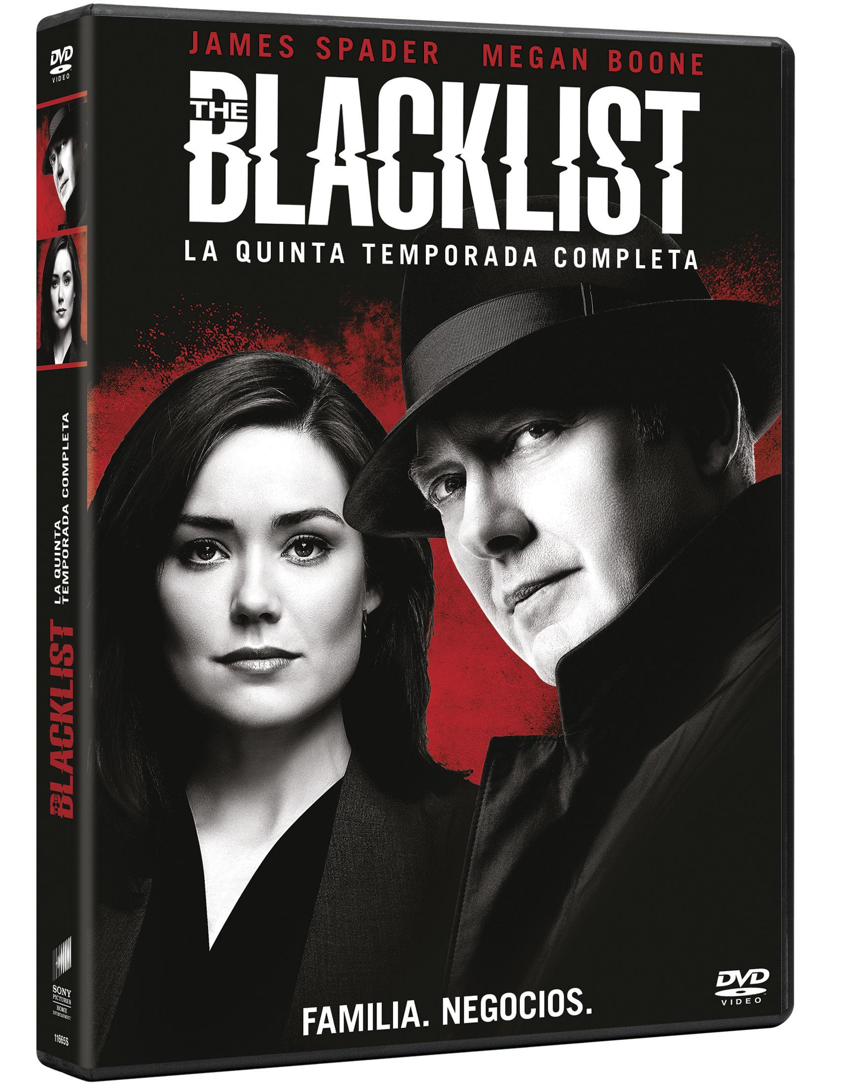 'The Blacklist: Temporada 5' en Blu-ray y Dvd el 5 de septiembre • En tu pantalla