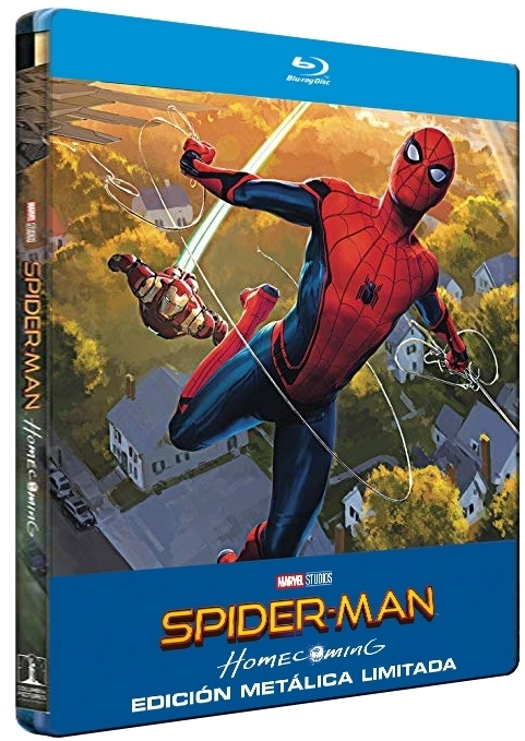 Spider-Man: Homecoming - Steelbook Blu-ray