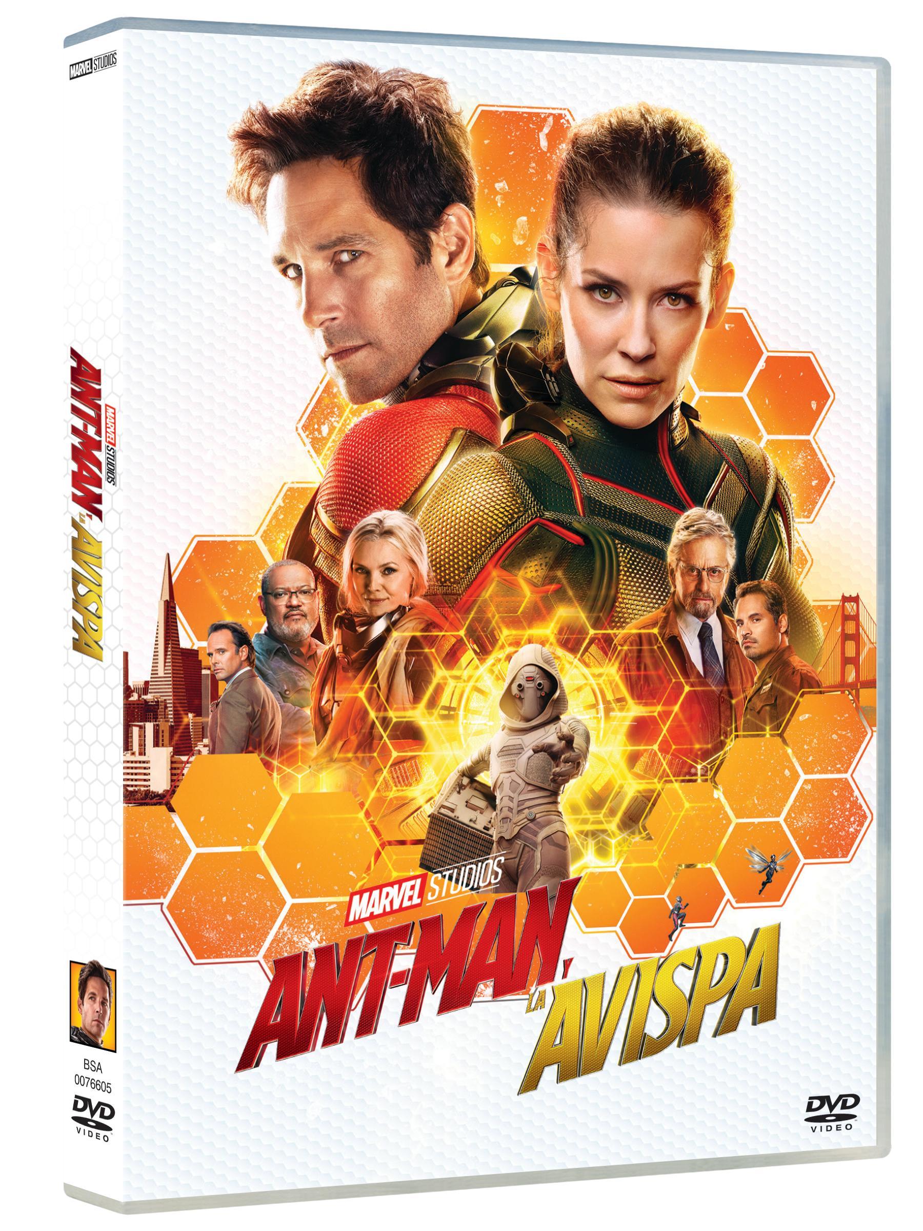 Ant-Man y la Avispa Dvd
