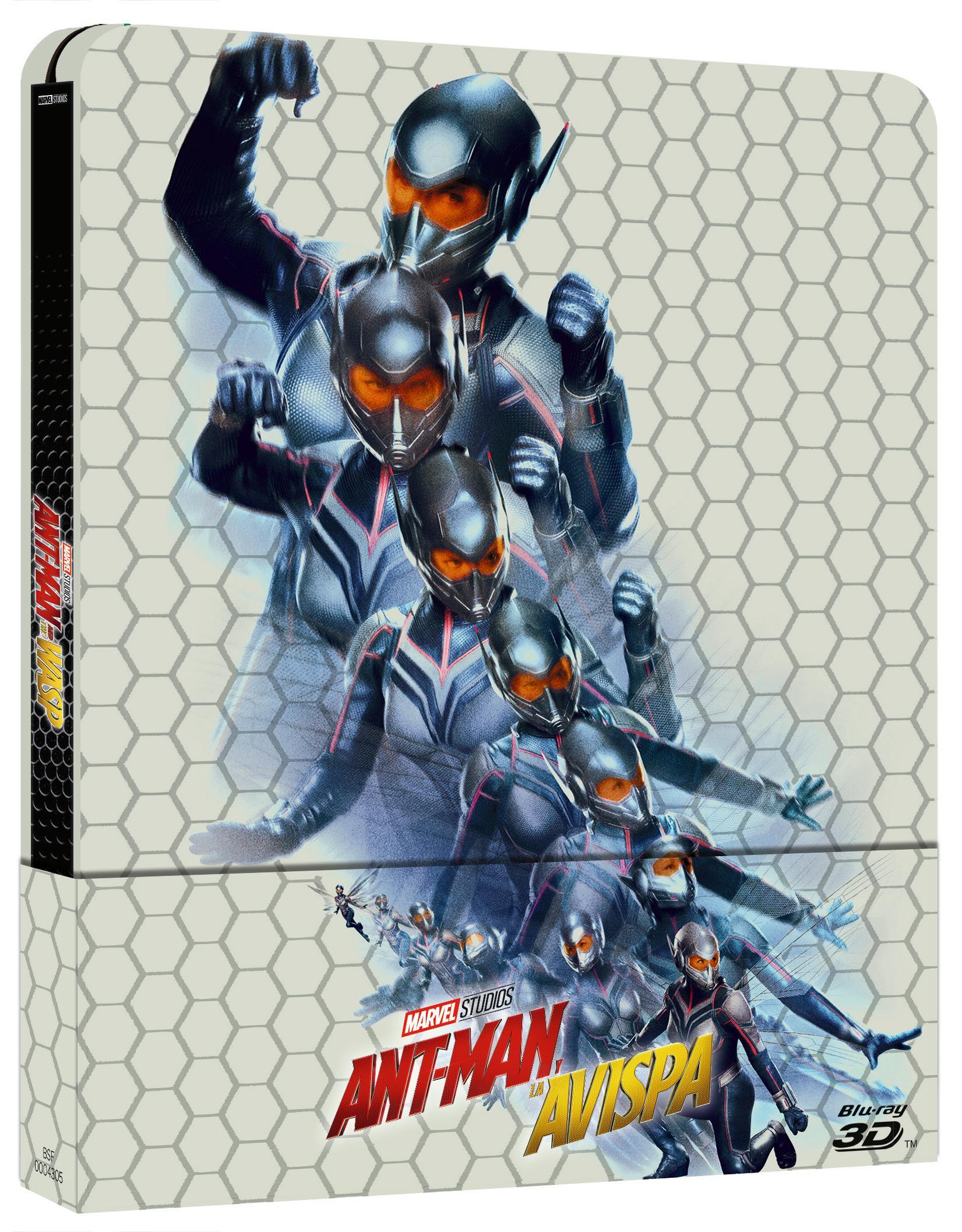 Ant-Man y la Avispa Steelbook 3D Blu-ray