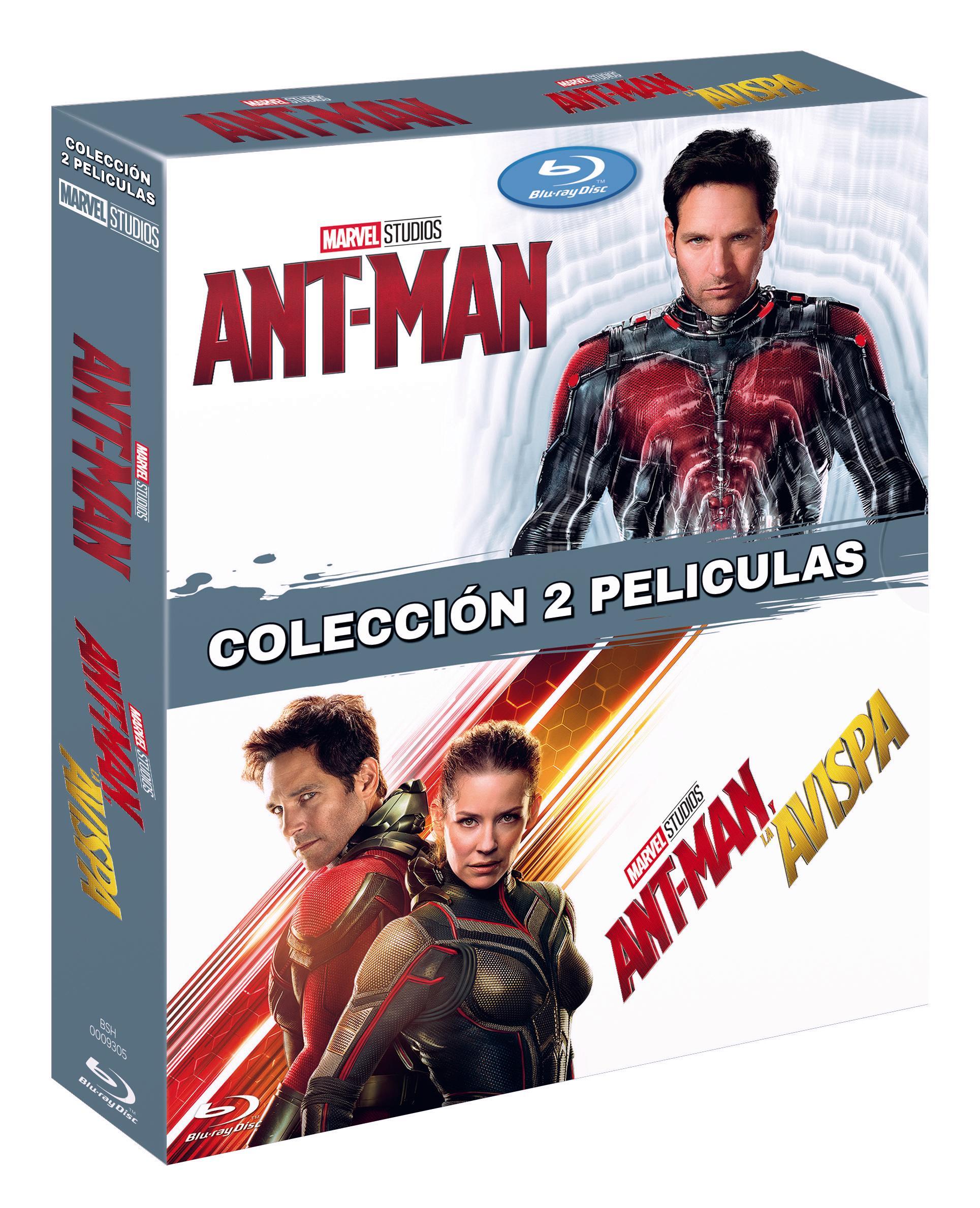 Ant-Man y Ant-Man y la Avispa Blu-ray