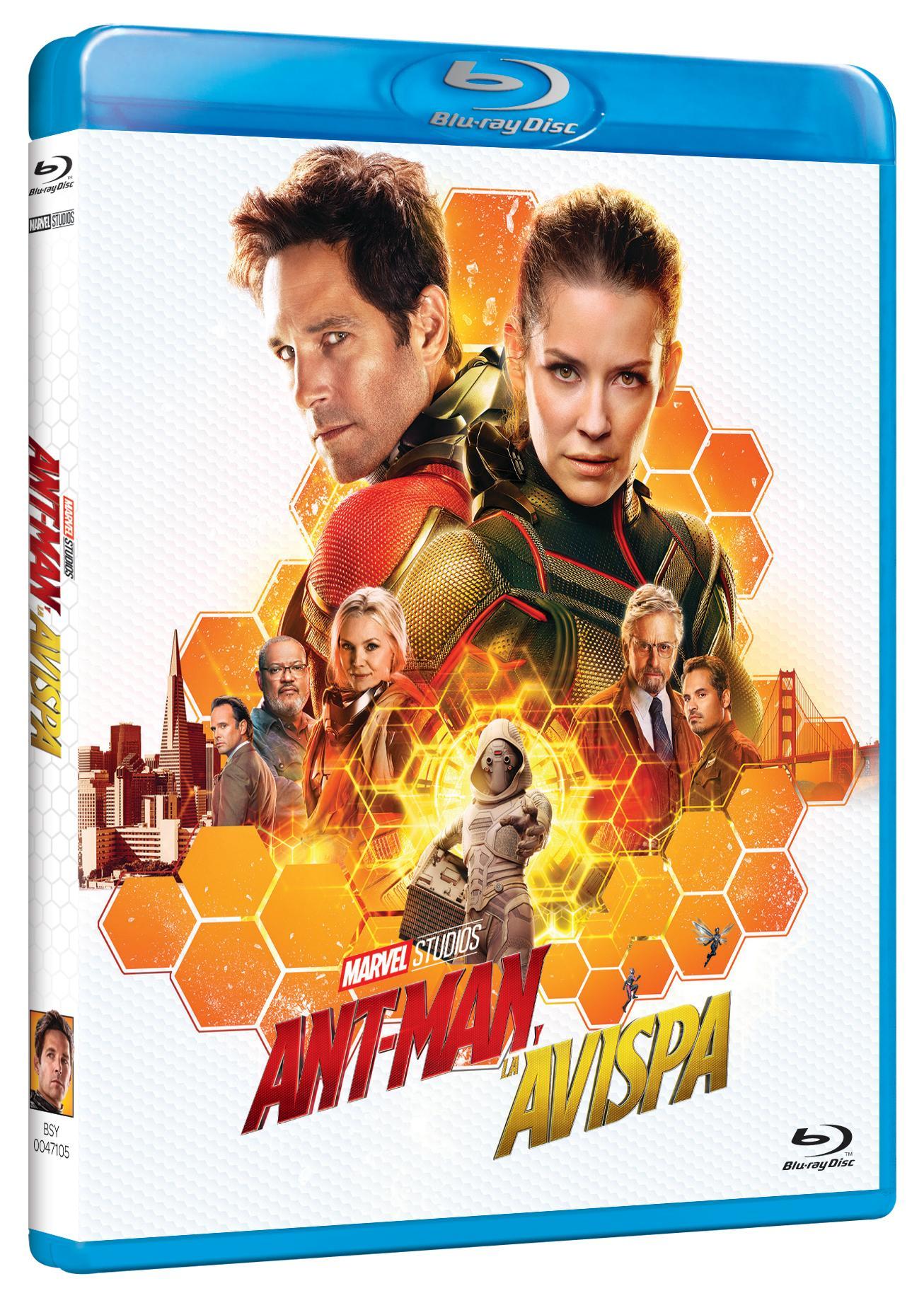 Ant-Man y la Avispa Blu-ray