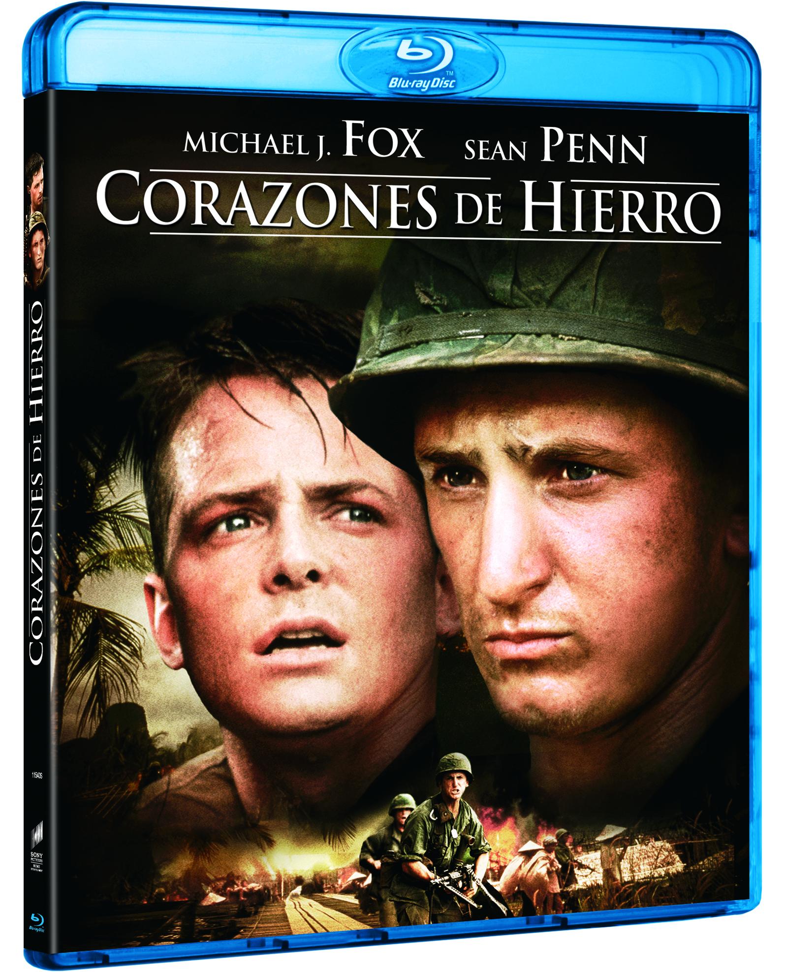 Corazones de Hierro Blu-ray