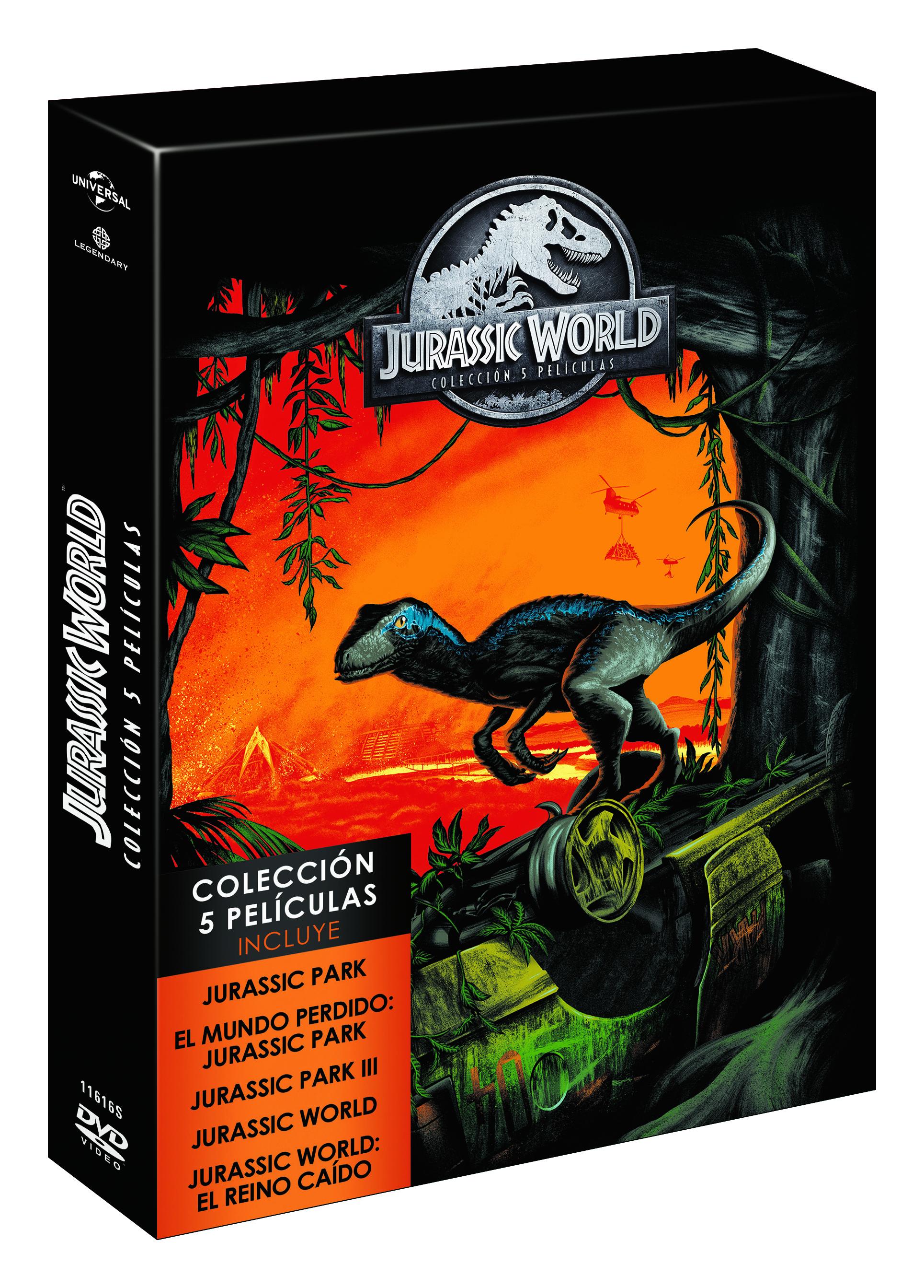 Jurassic Park Colección Dvd