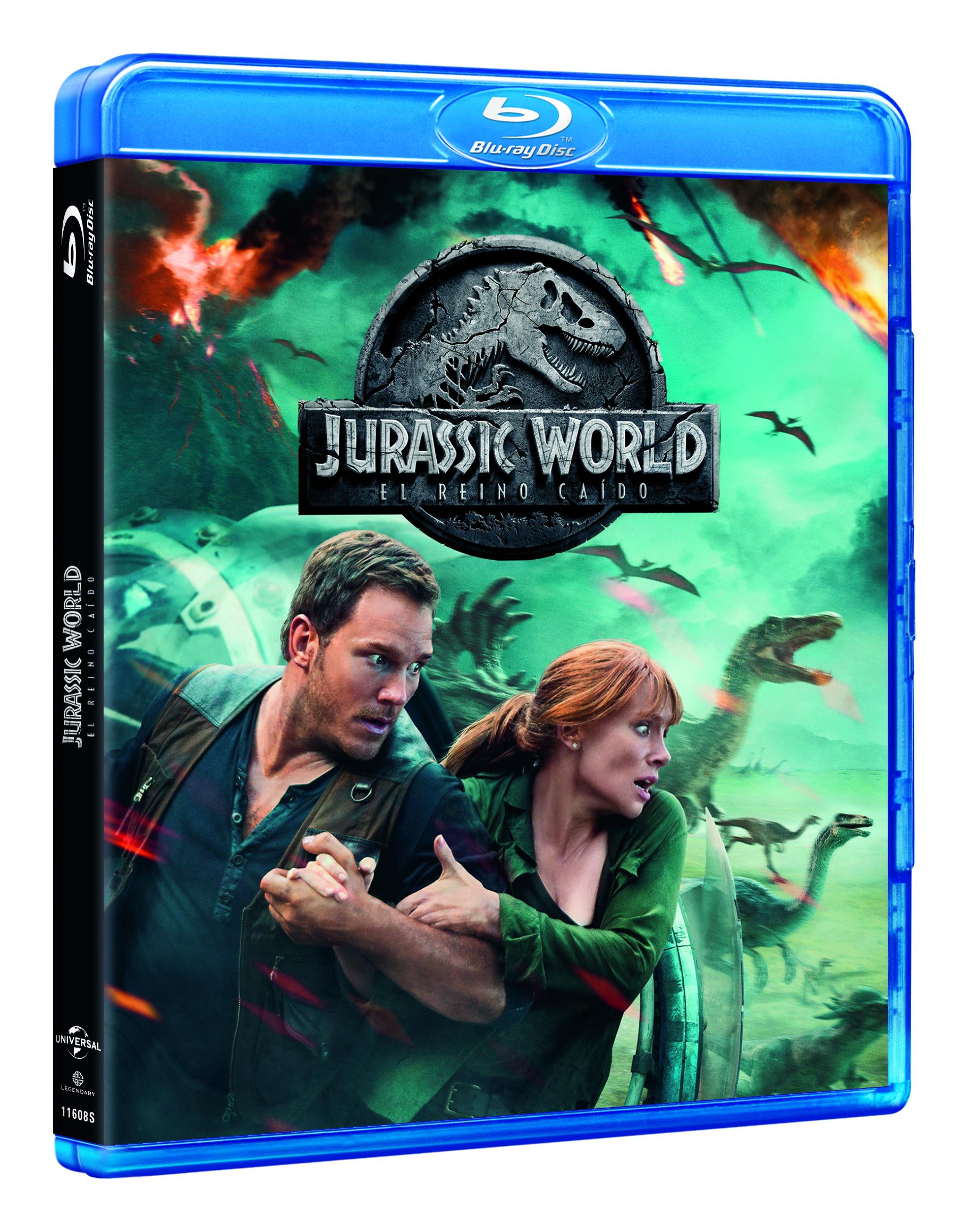 Jurassic World: El Reino Caído Blu-ray