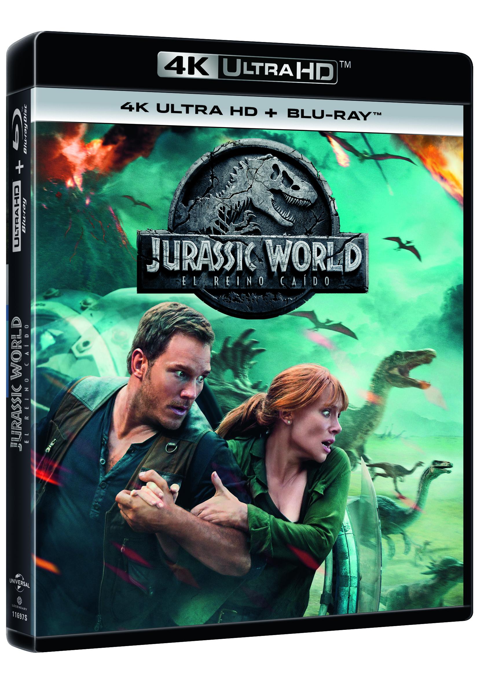 Jurassic World: El Reino Caído 4K Ultra HD