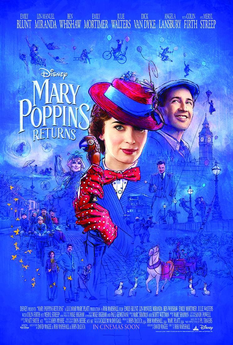 Póster 'El regreso de Mary Poppins'