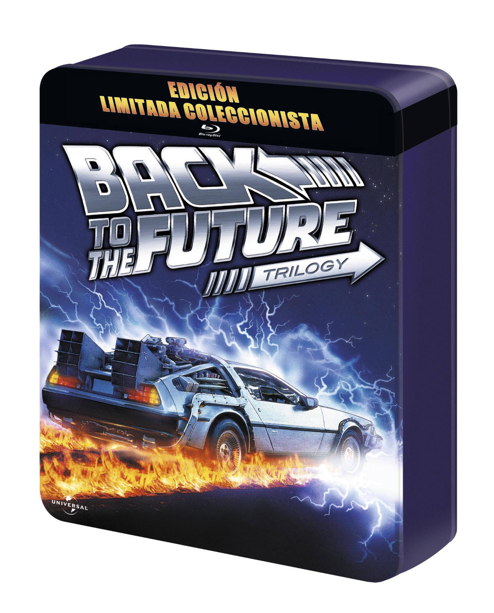 REGRESO AL FUTURO 1-3 Edición limitada