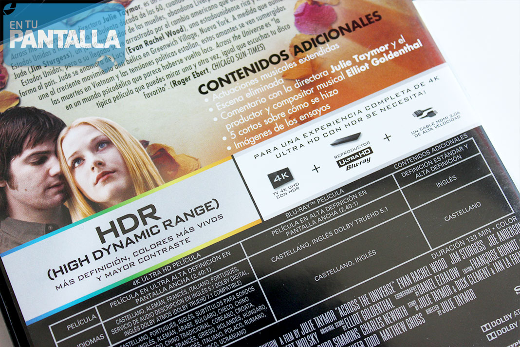 Across the Universe 4K Ultra HD
