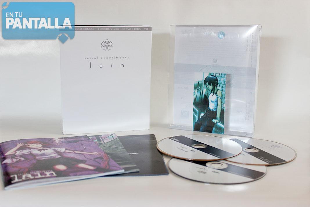 'Serial Experiments Lain' - Edición Coleccionista Blu-ray [Selecta Visión]