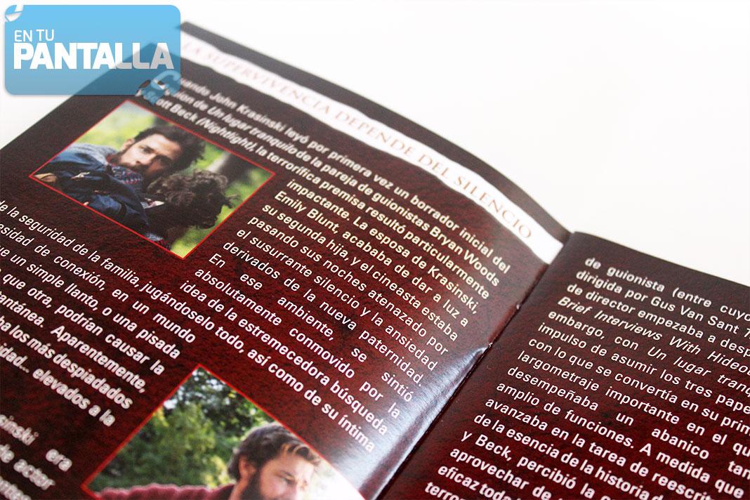 'Un lugar tranquilo' Steelbook Blu-ray