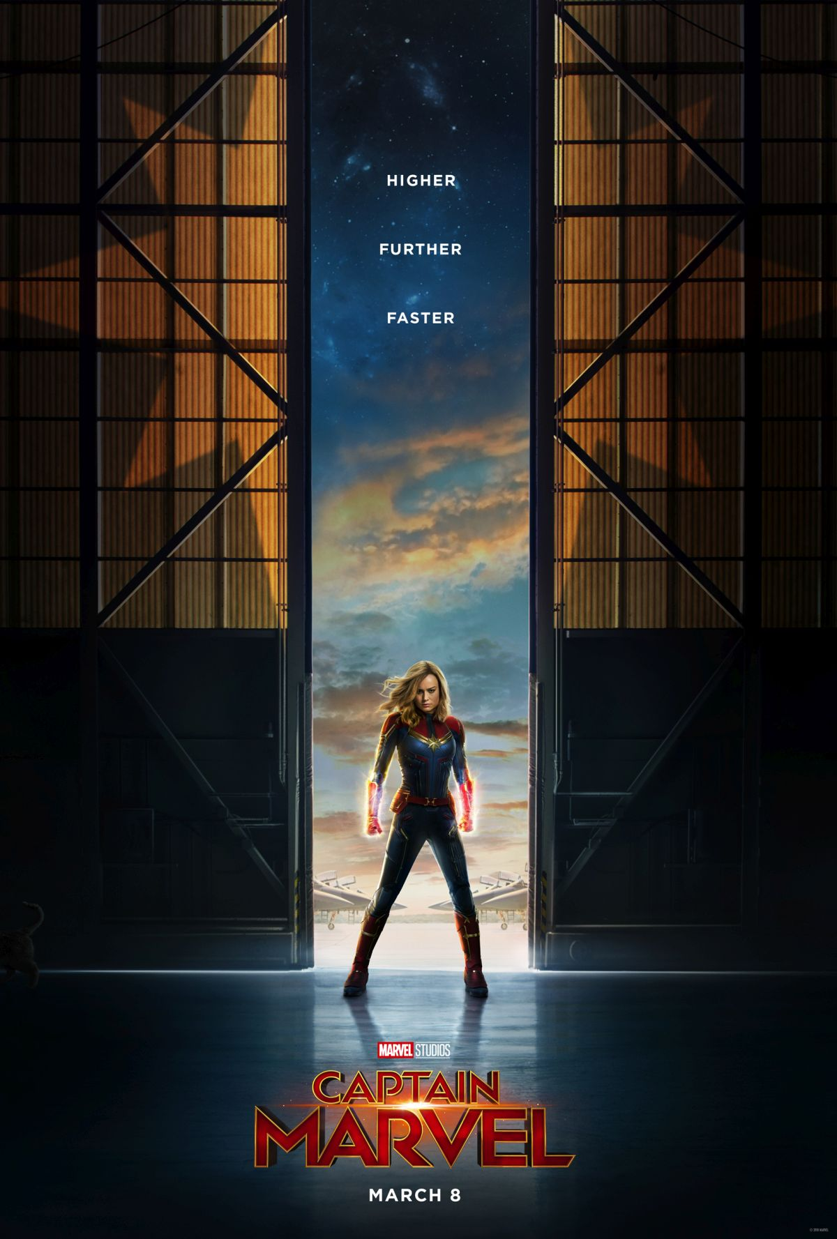 Póster 'Capitan Marvel'