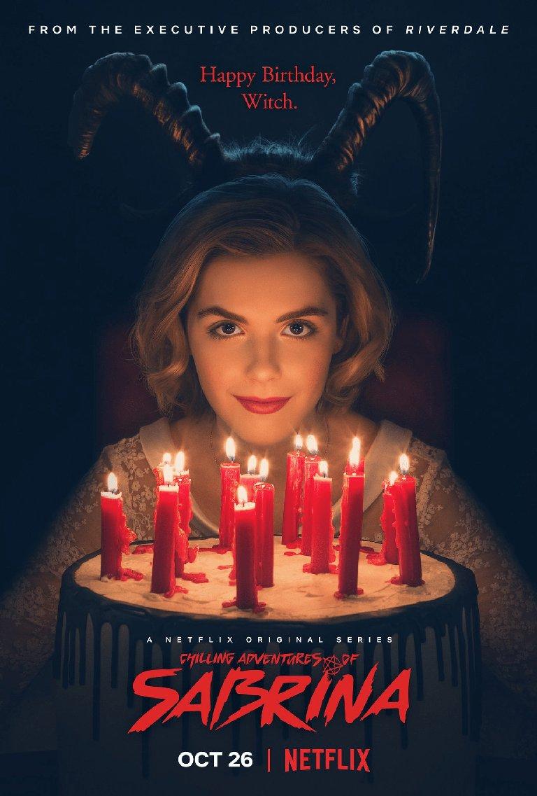 Poster 'Las escalofriantes aventuras de Sabrina'